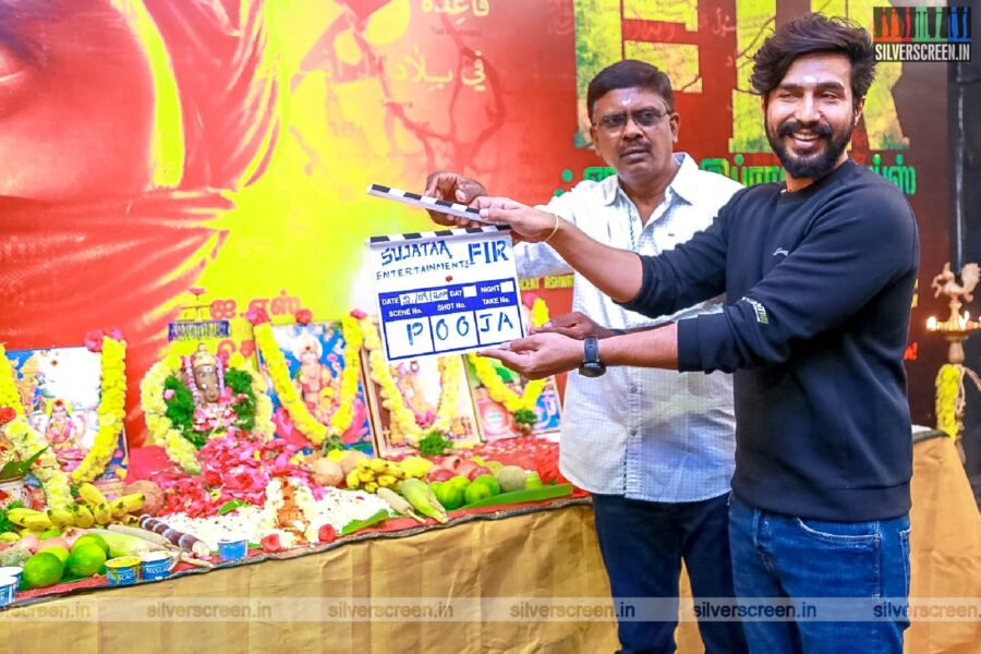 Vishnu Vishal At The 'FIR' Movie Launch
