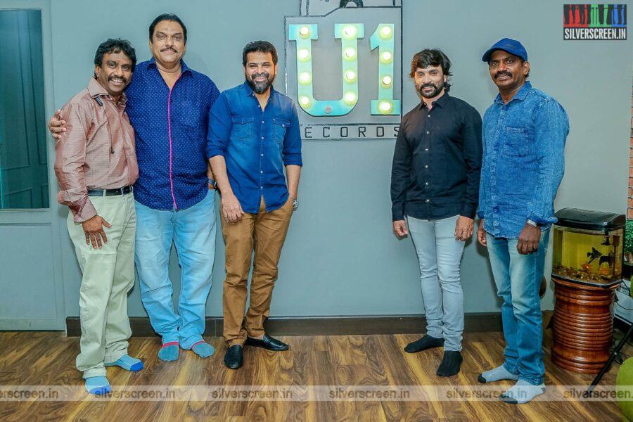 Ameer, Snehan At The 'Bommi Veeran' First Look Launch