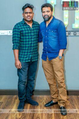 Ameer, Yuvan Shankar Raja At The 'Bommi Veeran' First Look Launch