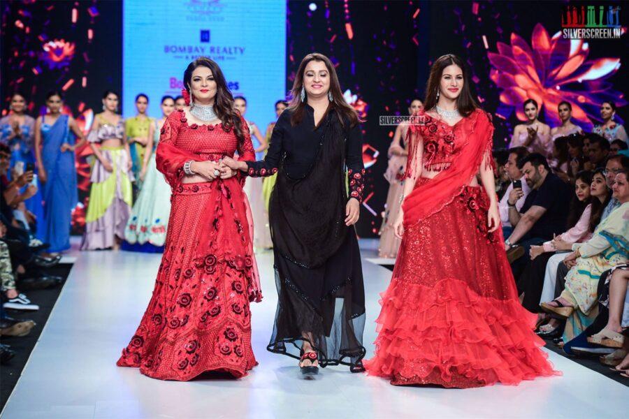 Amyra Dastur At The 'Bombay Times Fashion Week 2019'
