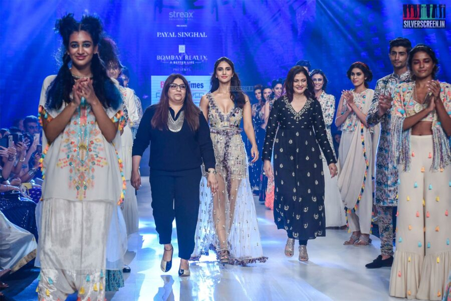 Vaani Kapoor Walks The Ramp For Payal Singhal At The 'Bombay Times Fashion Week 2019'