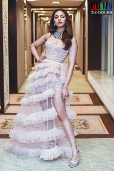Rakul Preet Singh At The 'Bombay Times Fashion Week 2019'