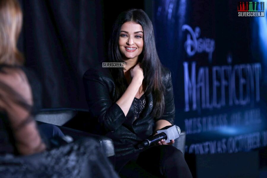 Aishwarya Rai At The 'Maleficent: Mistress of Evil' Trailer Launch