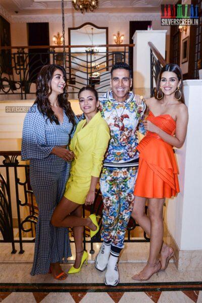 Akshay Kumar, Kriti Kharbanda, Kriti Sanon Promote 'Housefull 4'