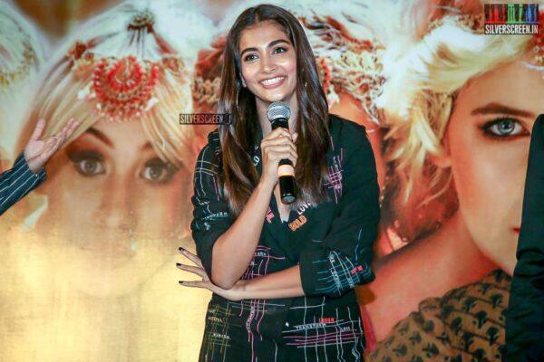 Pooja Hegde Promotes 'Housefull 4' In Hyderabad