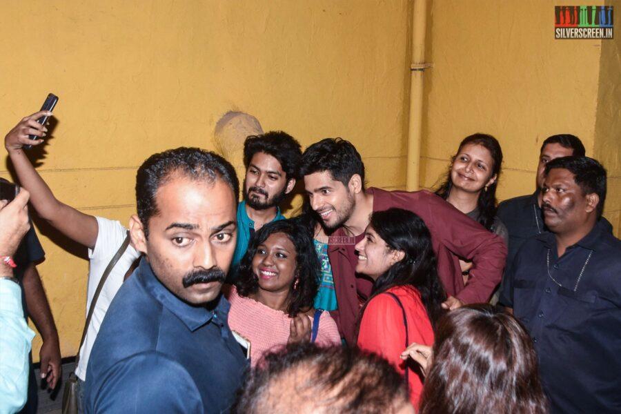 Sidharth Malhotra At 'Banega Swasth India' Campaign