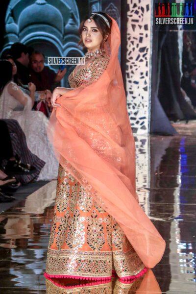Bhumi Pednekar Walks The Ramp For 'Abhu Jani And Sandeep Khosla'
