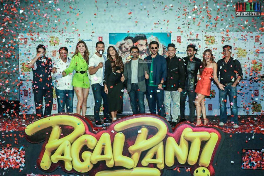 Anil Kapoor, Kriti Kharbanda At The 'Pagalpanti' Song Launch
