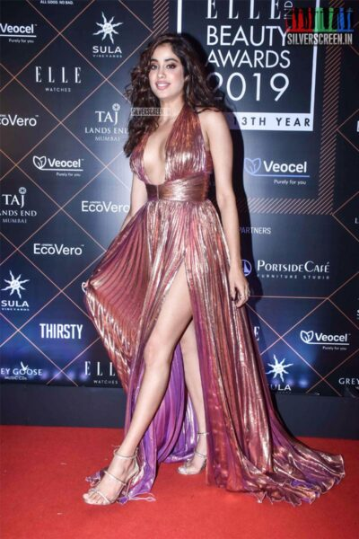 Janhvi Kapoor At The 'Elle Beauty Awards 2019'