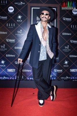 Ranveer SIngh At The 'Elle Beauty Awards 2019'