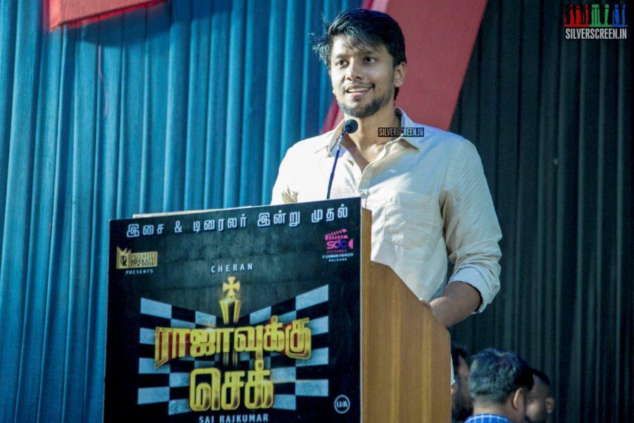 Celebrities At The 'Rajavukku Check' Audio Launch