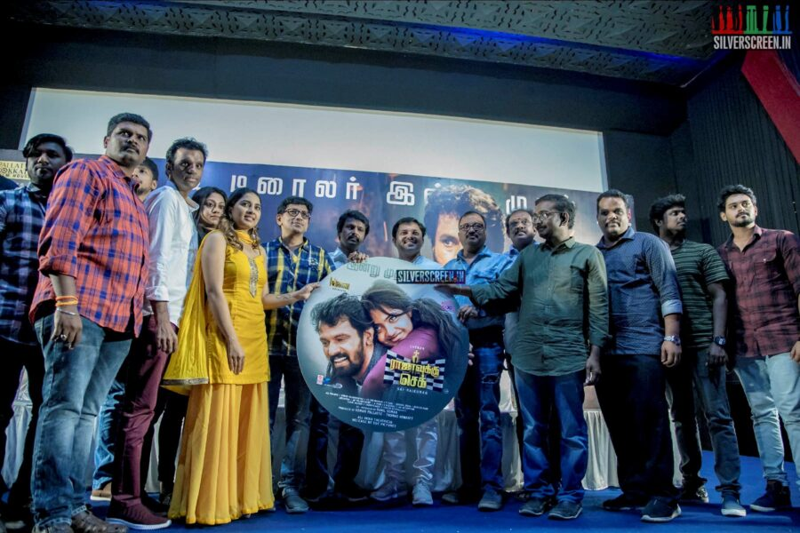 Celebrities At The 'Rajavukku Check' Audio Launch