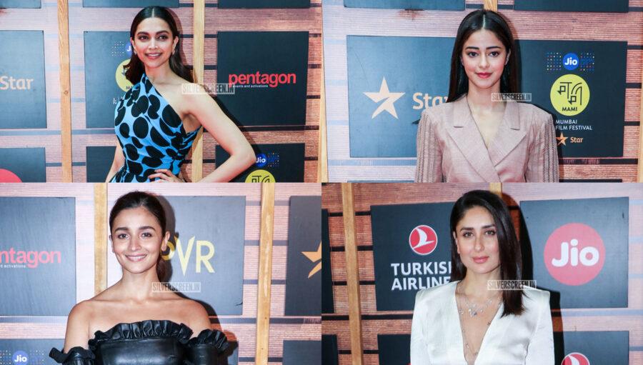 Deepika Padukone, Alia Bhatt, Kareena Kapoor At The 'Jio Mami Mumbai Film Festival'
