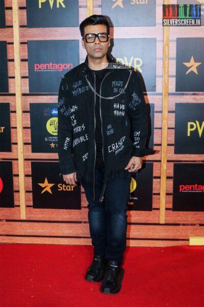 Karan Johar At The 'Jio Mami Mumbai Film Festival'