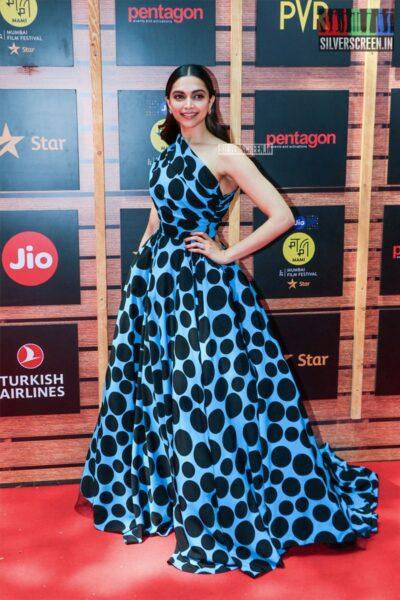 Deepika Padukone At The 'Jio Mami Mumbai Film Festival'