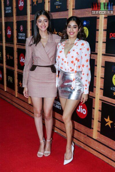 Ananya Panday, Janhvi Kapoor At The 'Jio Mami Mumbai Film Festival'
