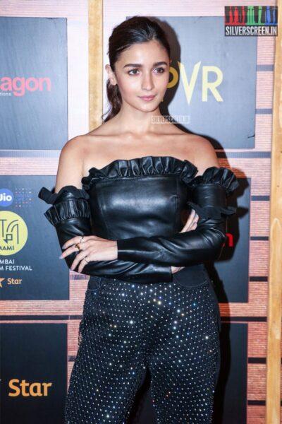 Alia Bhatt At The 'Jio Mami Mumbai Film Festival'
