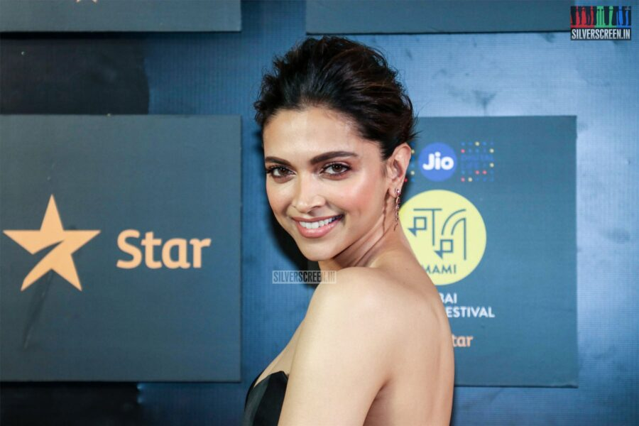Deepika Padukone At The '21st Jio MAMI Film Festival 2019'