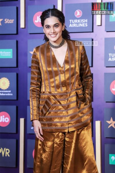Taapsee Pannu At The Closing Ceremony Of 21st 'Jio Mami Film Festival 2019'