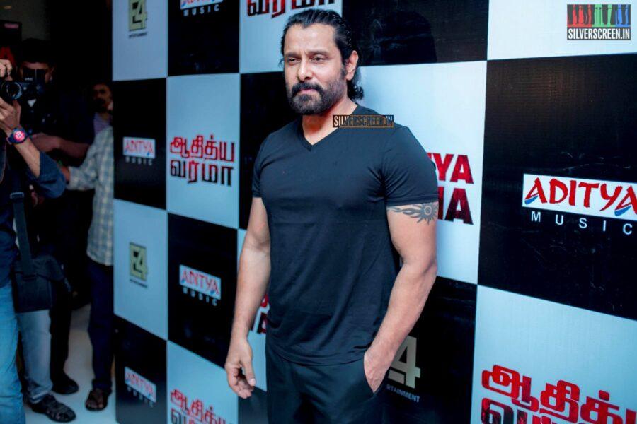 Vikram At The 'Aditya Varma' Audio Launch