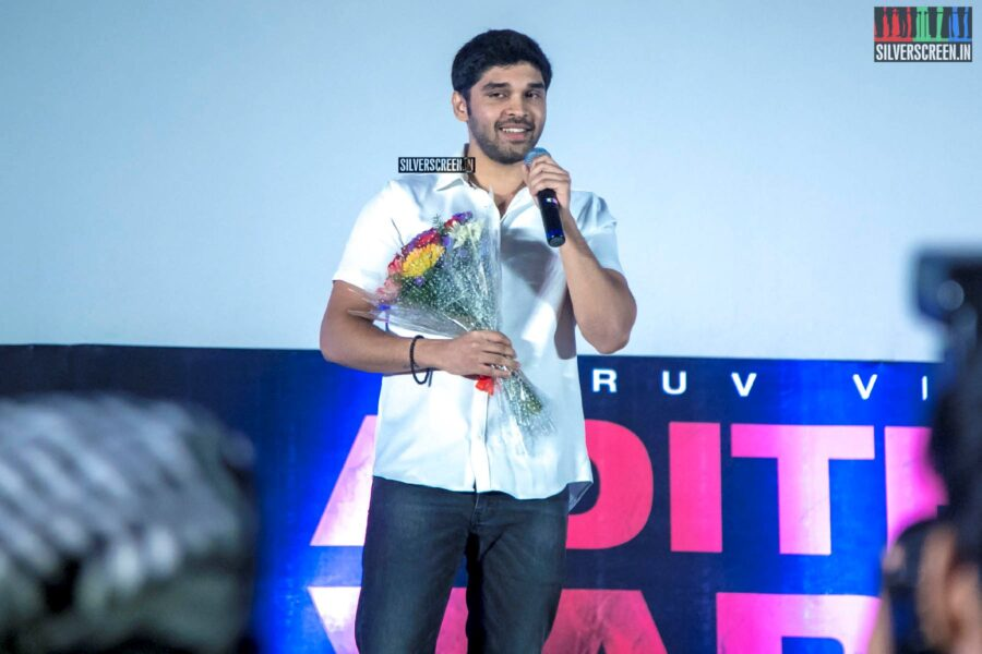 Dhruv Vikram At The 'Aditya Varma' Audio Launch