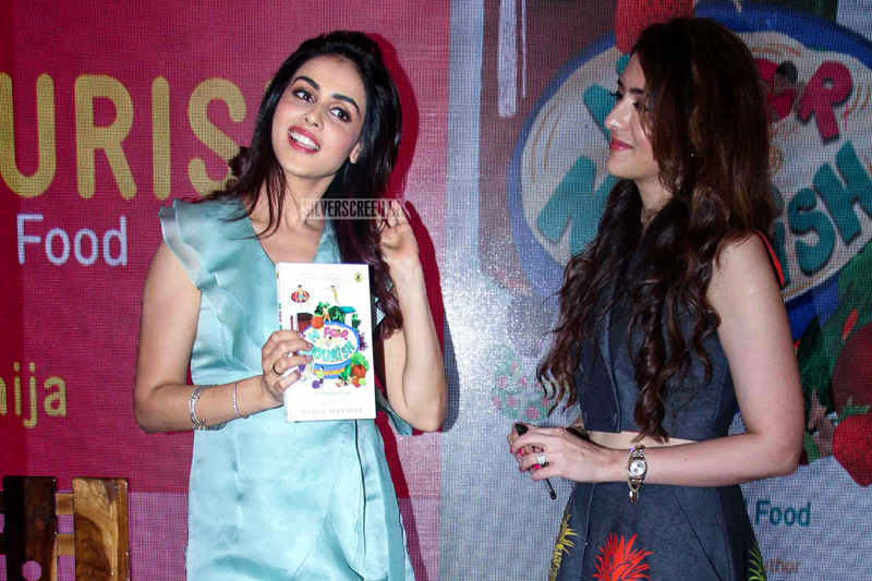 Genelia D'Souza At The 'N For Nourish' Book Launch