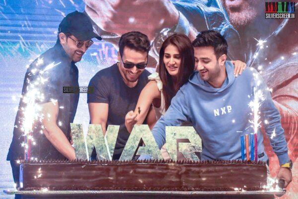 Hrithik Roshan, Tiger Shroff, Vaani Kapoor At The 'War' Success Meet