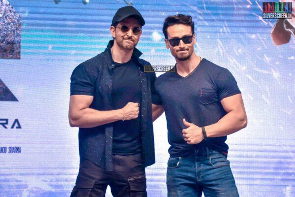 Hrithik Roshan, Tiger Shroff At The 'War' Success Meet