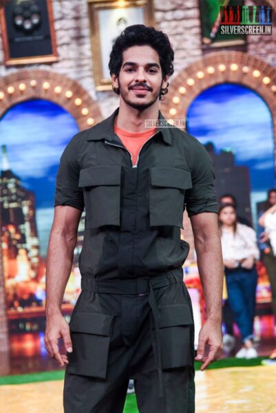 Ishaan Khattar On The Sets Of 'Movie Masti' With Maniesh Paul Show