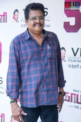 KS Ravikumar At The 'Comali' Thanksgiving Meet