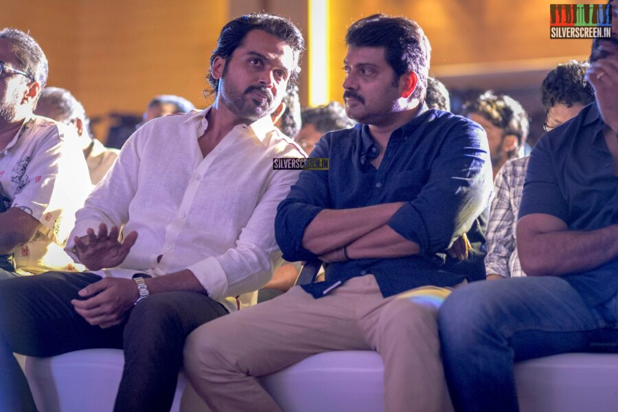 Karthi, Narain At The 'Kaithi' Press Meet