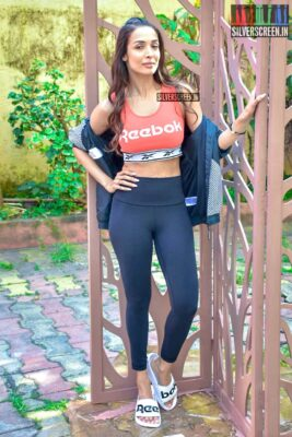 Malaika Arora At 'Work It Up' Fitness Series Shoot