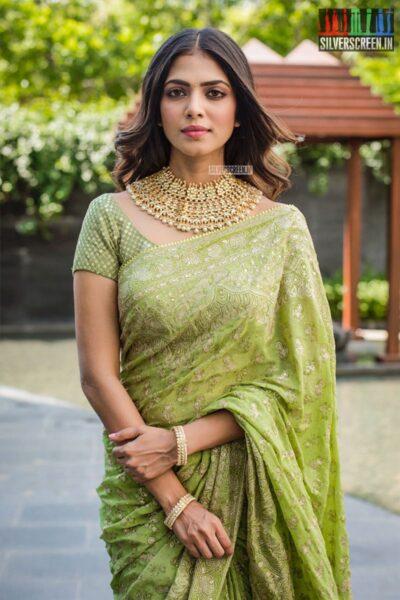 Malavika Mohanan At The 'Thalapathy 64' Movie Launch