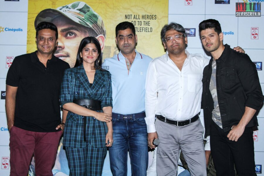 Megha Akash, Sooraj Pancholi At The 'Satellite Shankar' Trailer Launch