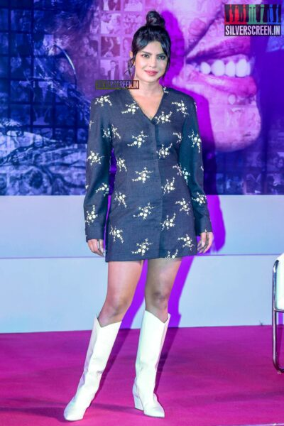 Priyanka Chopra Promotes 'The Sky Is Pink' In Bandra