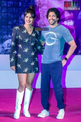 Priyanka Chopra And Farhan Akhtar Promote 'The Sky Is Pink' In Bandra