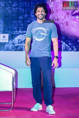 Farhan Akhtar Promotes 'The Sky Is Pink' In Bandra