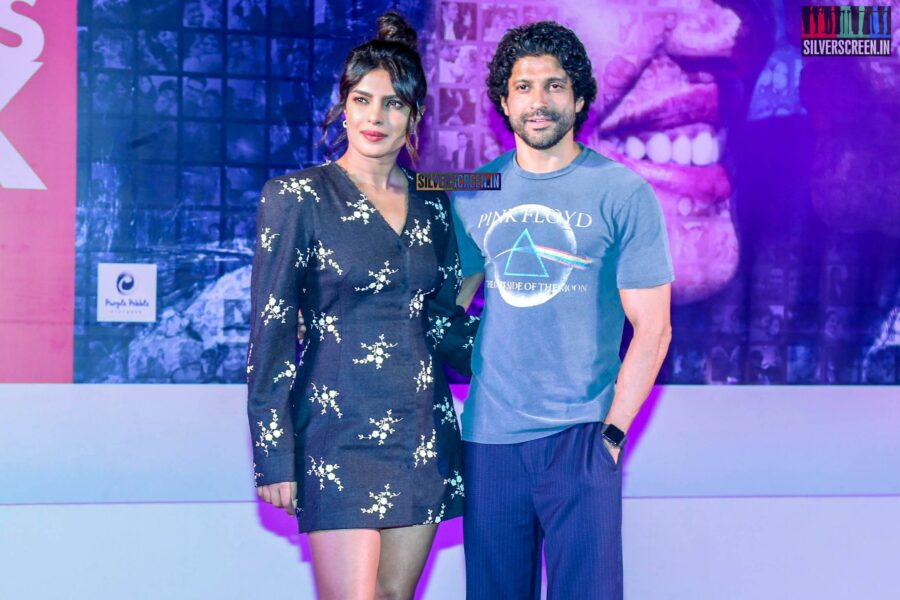 Priyanka Chopra And Farhan Akhtar Promote 'The Sky Is Pink' In Bandra