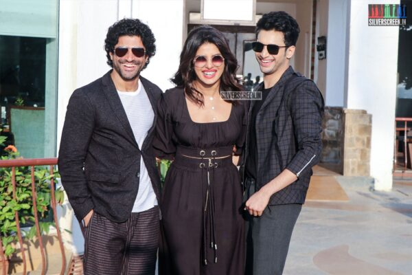Priyanka Chopra, Farhan Akhtar Promote 'The Sky Is Pink'