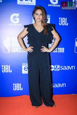 Neetu Chandra At The 'NBA India Games 2019' - Day 2