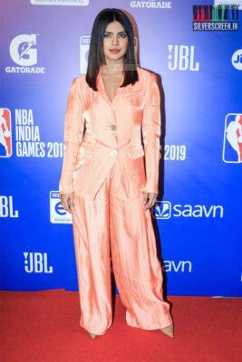 Priyanka Chopra At The 'NBA India Games 2019' - Day 2