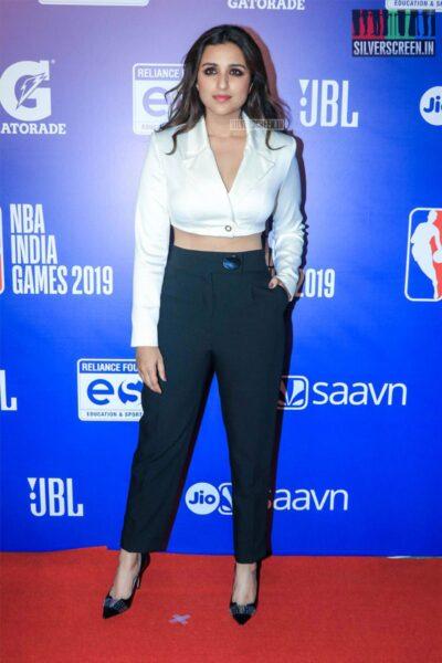 Parineeti Chopra At The 'NBA India Games 2019' - Day 2