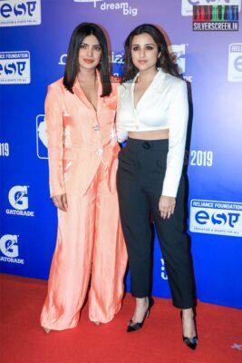 Priyanka Chopra, Parineeti Chopra At The 'NBA India Games 2019' - Day 2