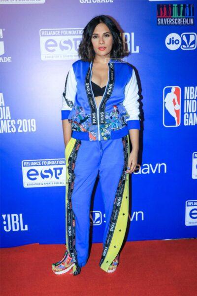 Richa Chadha At The 'NBA India Games 2019' - Day 2