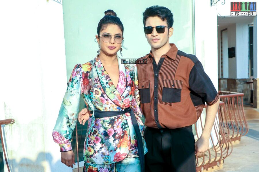 Priyanka Chopra, Rohit Saraf Promote 'The Sky Is Pink'