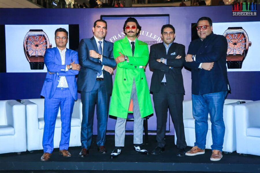 Ranveer Singh Become Brand Ambassador For Franck Muller