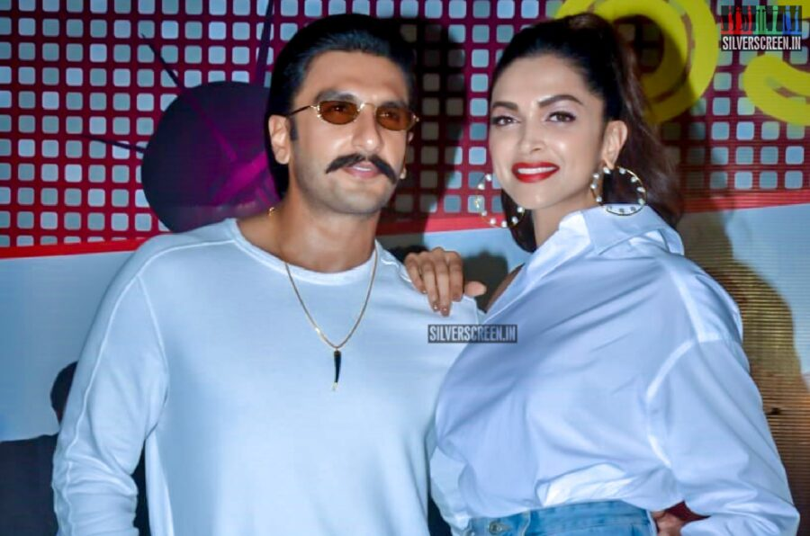 Ranveer Singh, Deepika Padukone At The '83' Wrap Up