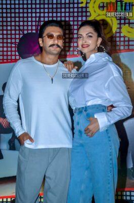 Ranveer Singh, Deepika Padukone At The '83' Wrap Up