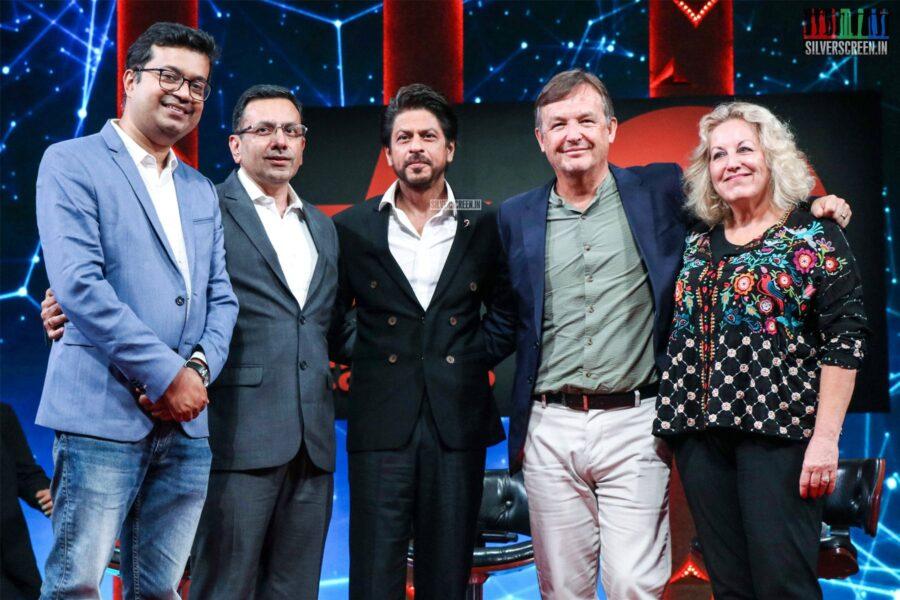 Shah Rukh Khan At The 'TED Talks India - Nayi Baat' press meet