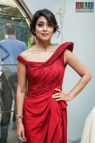 Shriya Saran  At The Gaurav Gupta Store Launch In Hyderabad